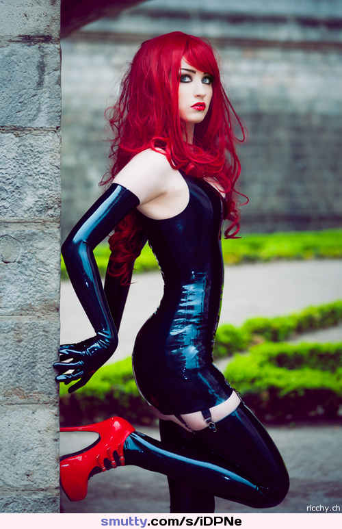 showing images for misa campo porn xxx Beautiful, Catsuit, Corset, Cosplay, Gloves, Gorgeous, Heels, Latex, Redhair, Redhead, Tele