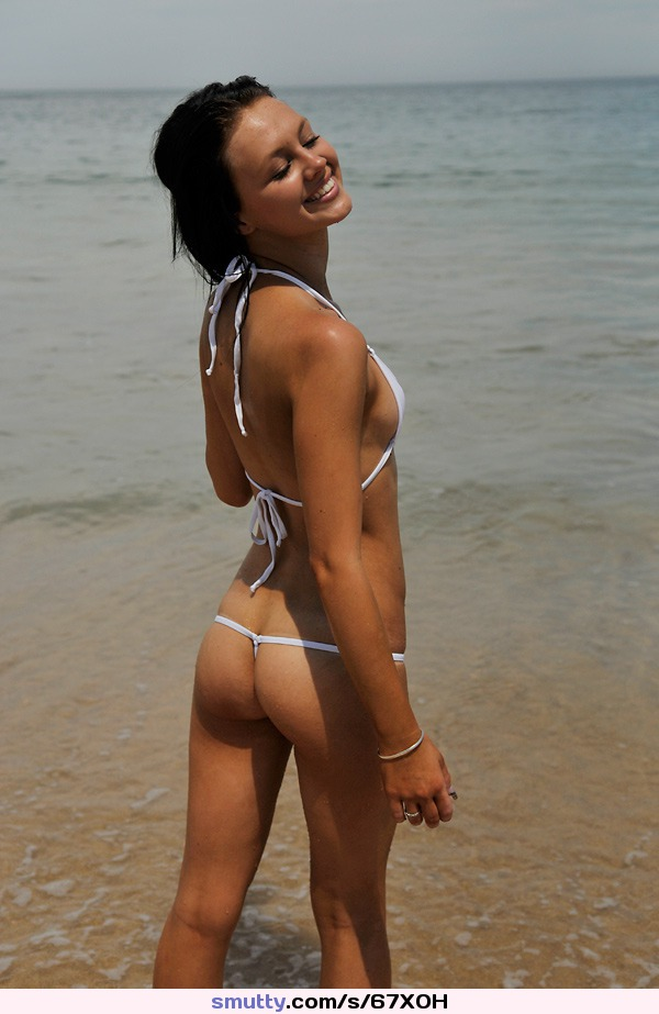 big white booty in tight shorts porn gif