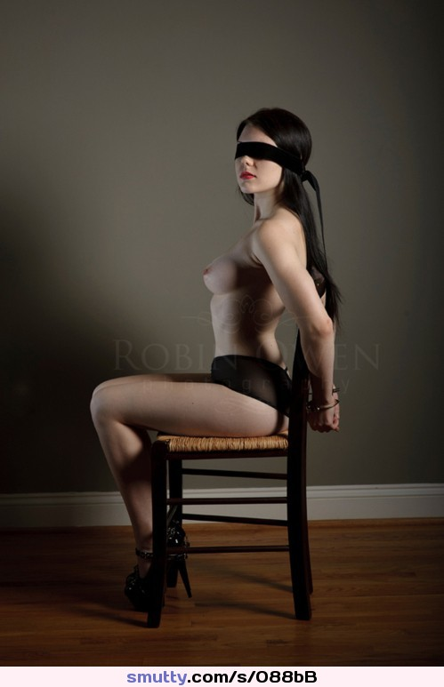 Submissive .... Sexy Blindfold .... Tele