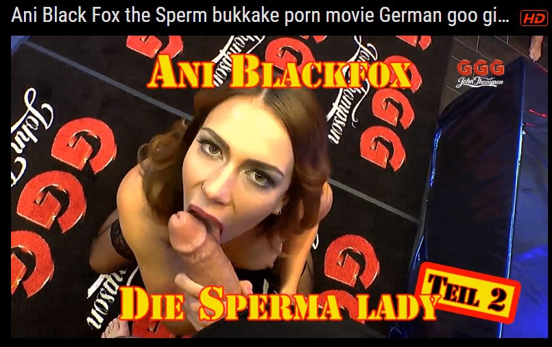 the midget the tranny and the lesbian xxxbunker Ani black fox facial and swallow