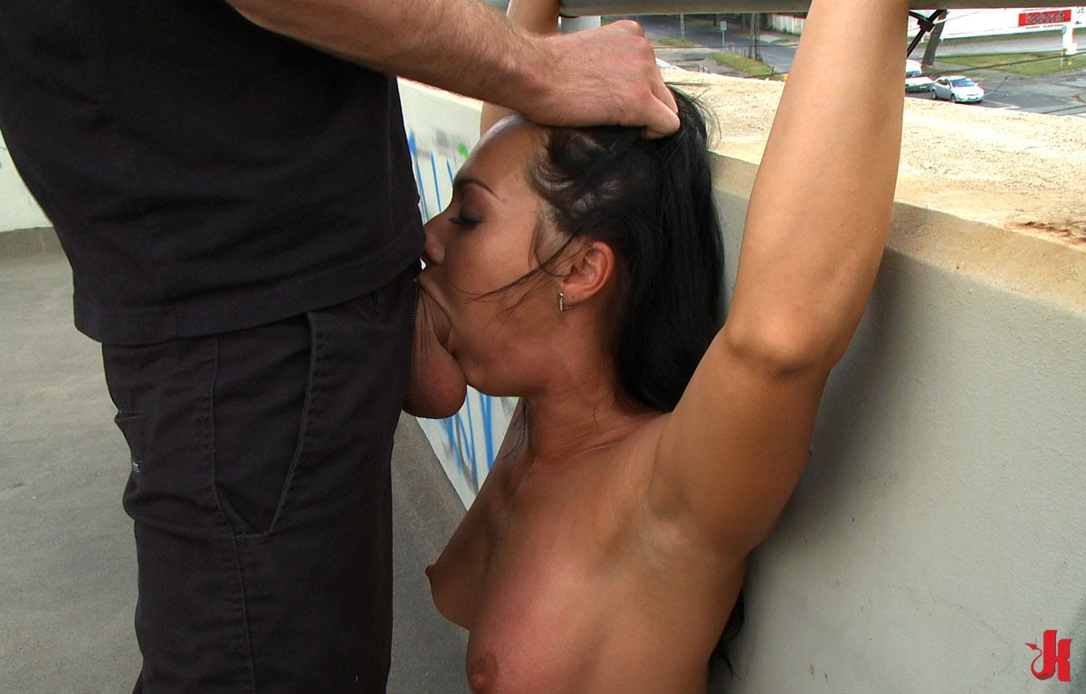 hot zoe angevine shows off her ass before getting pounded tmb