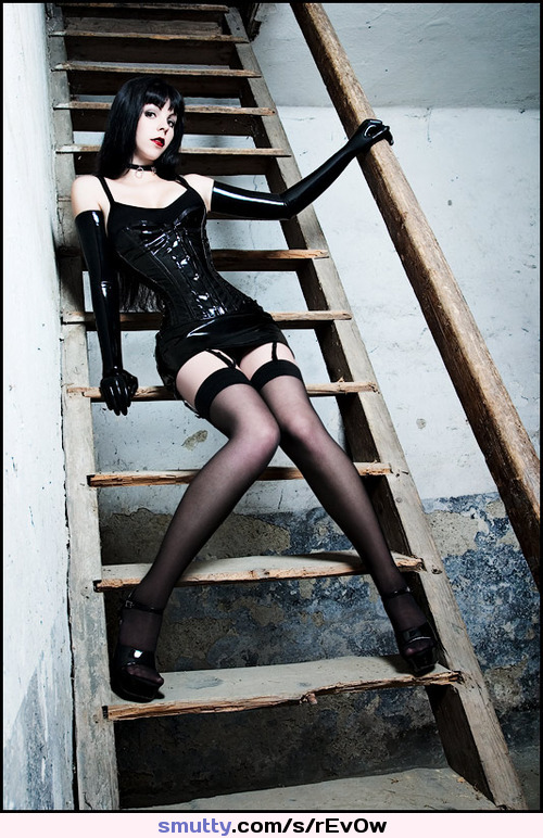 very painful pussy clit hood piercing on cute #Sexxxy .....#goth #latex #pale #choker #stockings #corset #gloves #longhair #sexy #heels #beautiful #gorgeous #hot #lovely ....#tele